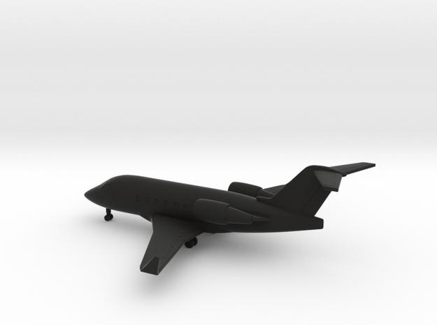 Bombardier Challenger 604 in Black Natural Versatile Plastic: 6mm
