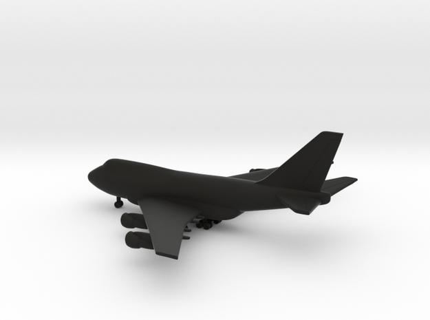 Boeing 747SP in Black Natural Versatile Plastic: 1:700