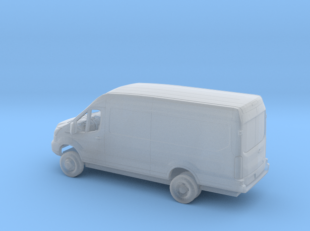1/160 2018 Ford Transit Mid Roof Extended Delivery in Smooth Fine Detail Plastic
