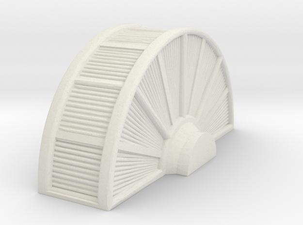 Industrial Turbine 1/76 in White Natural Versatile Plastic
