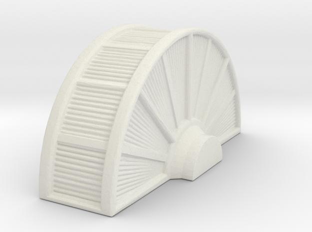 Industrial Turbine 1/120 in White Natural Versatile Plastic
