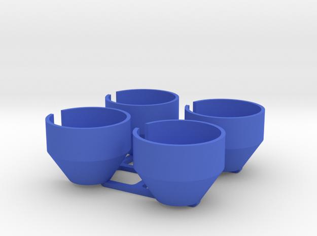 Capra Shock Bottoms w/o limiter in Blue Processed Versatile Plastic