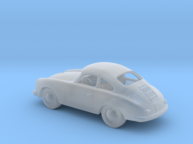 Porsche 356 a 1958  1:120 TT in Smooth Fine Detail Plastic