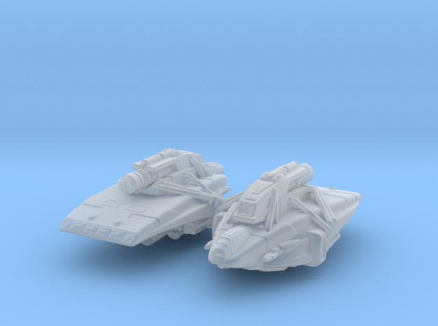 Kago-Darr's Shuttle 1/1000 x2 in Smooth Fine Detail Plastic