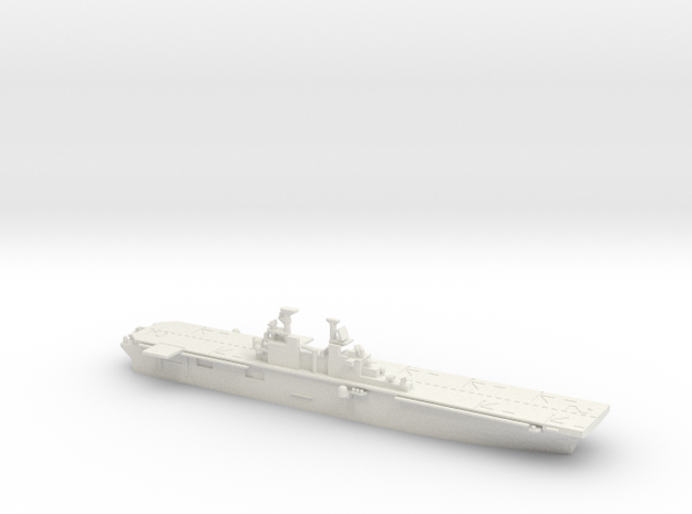 USS Essex (LHD-2) in White Natural Versatile Plastic