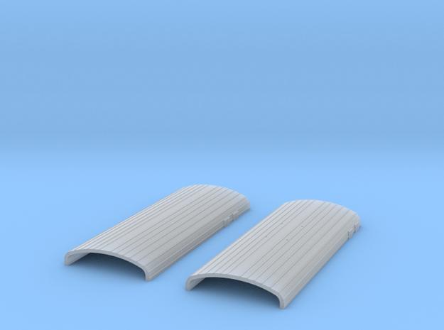 er 2t 1:87 HO A1 Vagon Kruscha ROOF in Smoothest Fine Detail Plastic