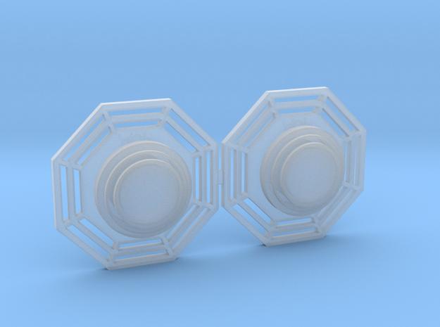 Artoo De Ago's 1:2.3 octagon ports, shallow ESB in Smooth Fine Detail Plastic