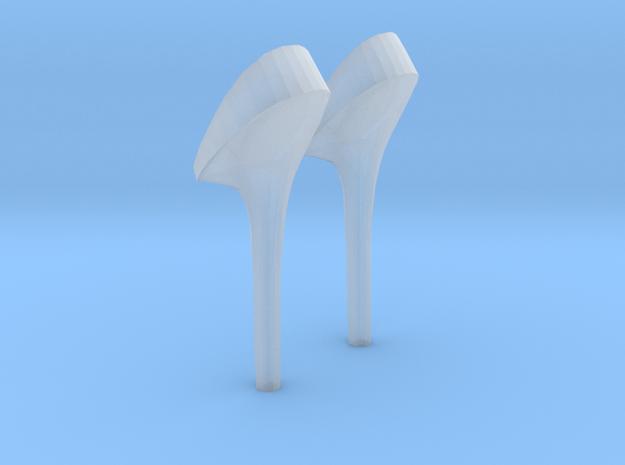 girl-heel2 in Smooth Fine Detail Plastic