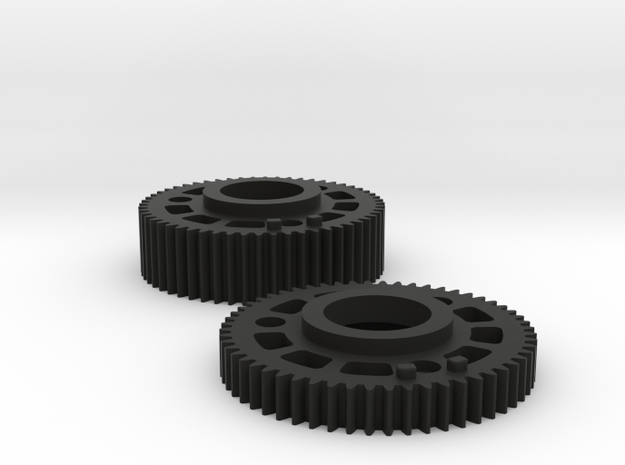Preston Standard 0.8 Module Gears Set in Black Natural Versatile Plastic