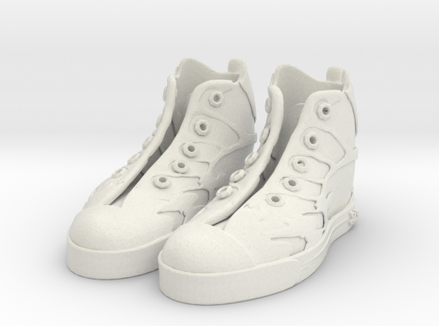 Boy-butterfly_sneaker-typeA in White Natural Versatile Plastic