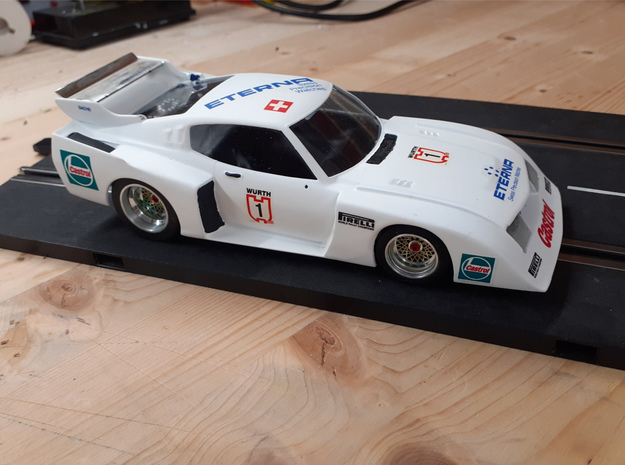 Chassis 124 Tamiya Toyota Celica LB Igarashi in White Natural Versatile Plastic