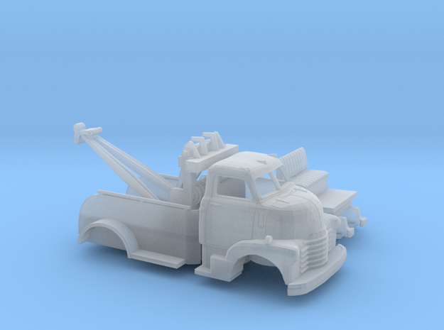 1/160 1949 Chevy COE TowTruck Kit in Smooth Fine Detail Plastic