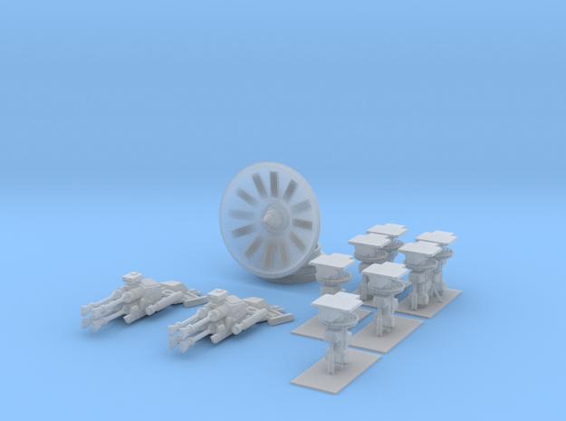 Star Wars Millennium Falcon Landing Gear in Smoothest Fine Detail Plastic