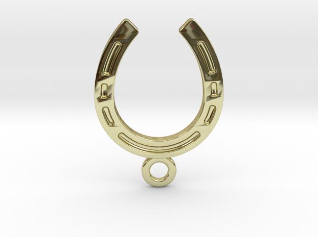 Horseshoe earring in 18K Yellow Gold