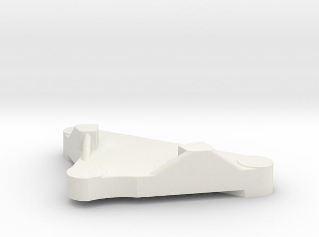 BSA E35 Gearchange Housing Casting Pattern in White Natural Versatile Plastic