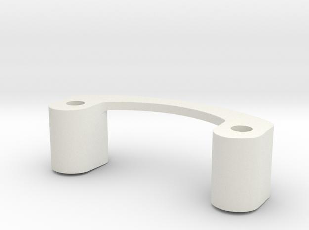 Mini-Z Spoiler Mount MT900 (Tall) in White Natural Versatile Plastic