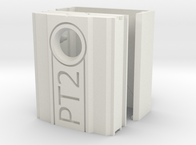 PT2 Case in White Natural Versatile Plastic