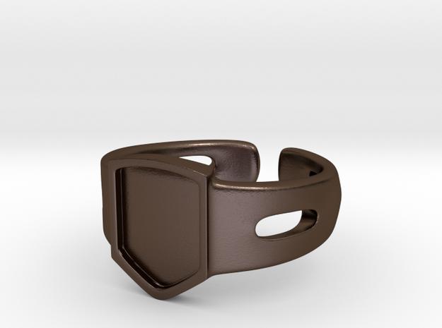 Signet Ring Blank 19mm 3d printed