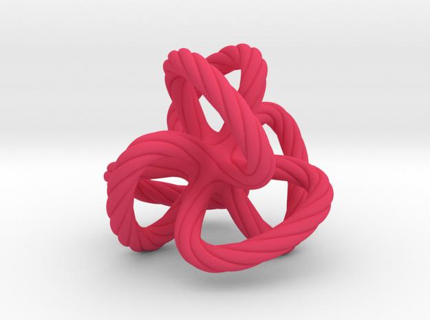 Dodecahedron quadroloop 3d printed
