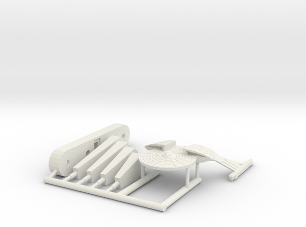 6k chandley Frigate in White Natural Versatile Plastic