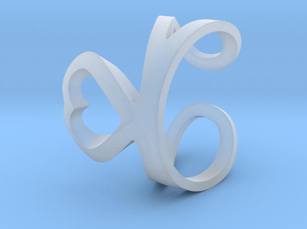 Loving ring 3d printed