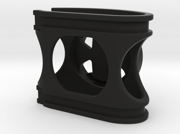 Speed Concept Wahoo Mount (no GoPro) in Black Natural Versatile Plastic