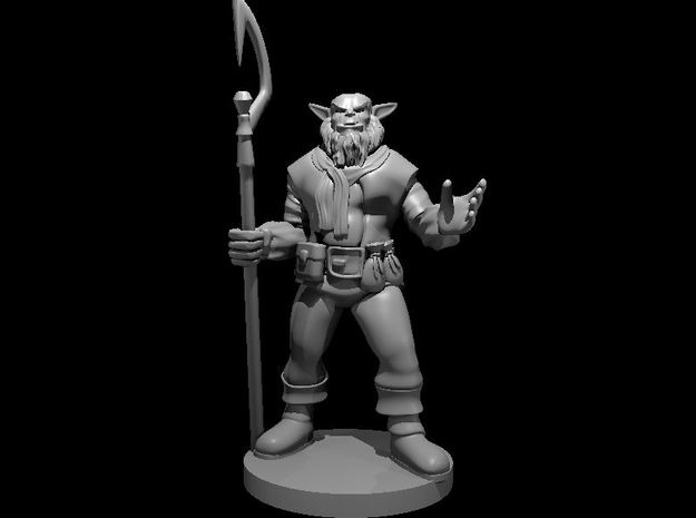 Bugbear Sorcerer in Smooth Fine Detail Plastic