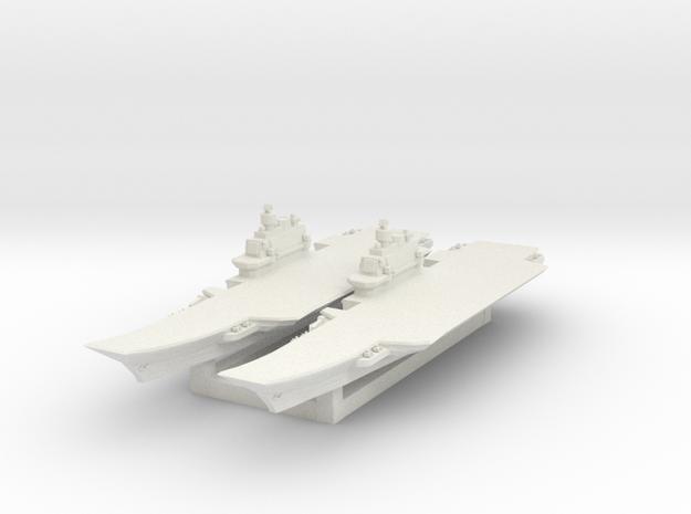 Admiral Kuznetsov 1/3000 in White Natural Versatile Plastic