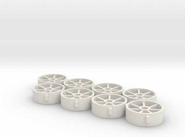 12.5.x4.5x2.38 in White Natural Versatile Plastic