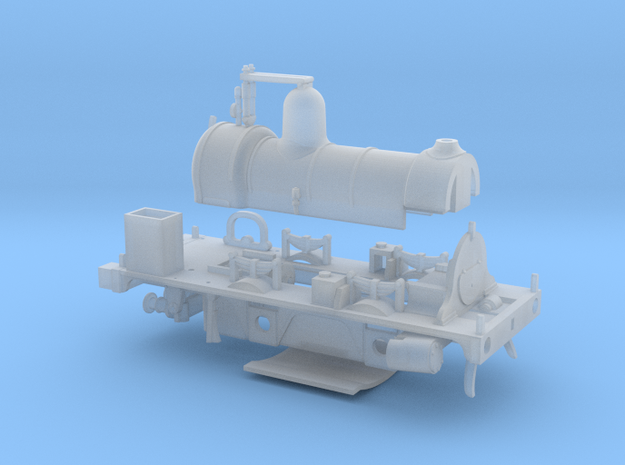 LBSCR Well Tank EM / P4 (Works Version) in Smooth Fine Detail Plastic