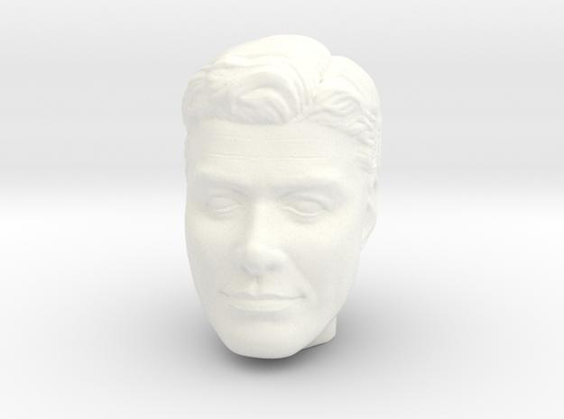 Lost in Space John Robinson 1:9 Trendmasters  in White Processed Versatile Plastic