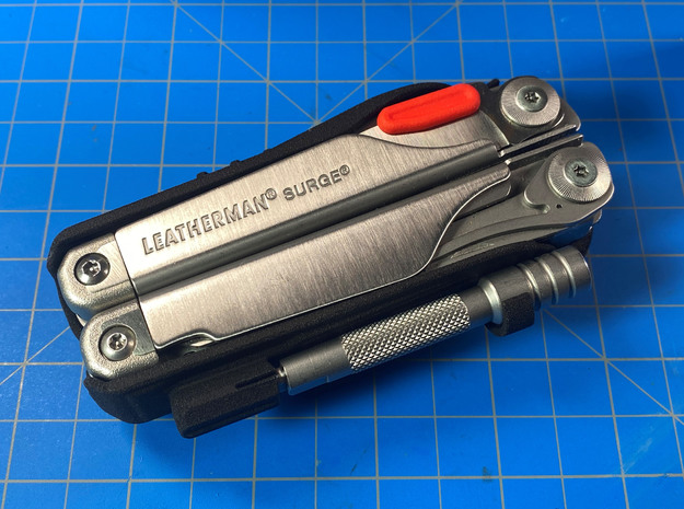 Thumb Tabs for Leatherman Surge in Red Processed Versatile Plastic