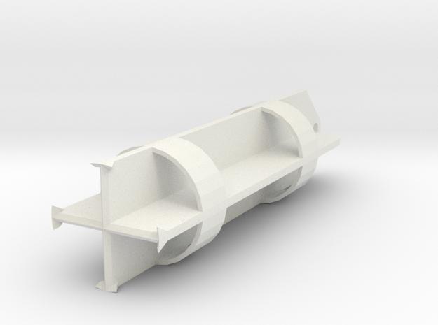 Chisel 1500mm for bored piles in White Natural Versatile Plastic
