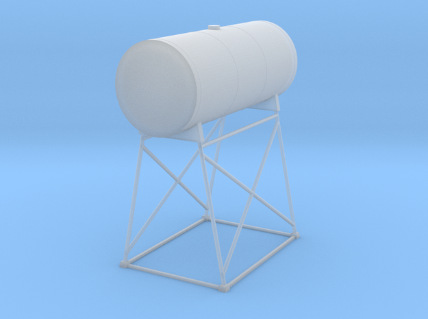 'N Scale' - 15' x 36' Elevated Tank in Smooth Fine Detail Plastic