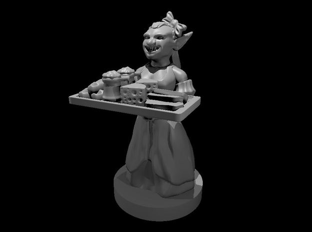 Goblin Barmaid in Smooth Fine Detail Plastic