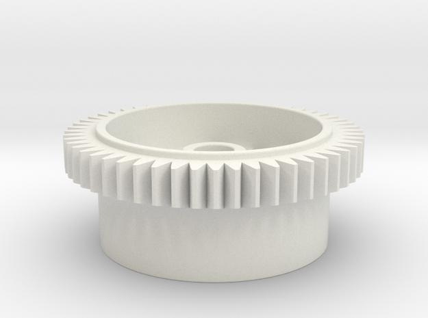 Mini-Z 64P Diff Spur Gear - 53T in White Natural Versatile Plastic