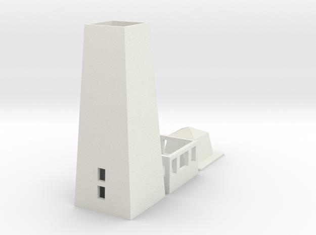 Lupfenturm Bausatz V1 in White Natural Versatile Plastic