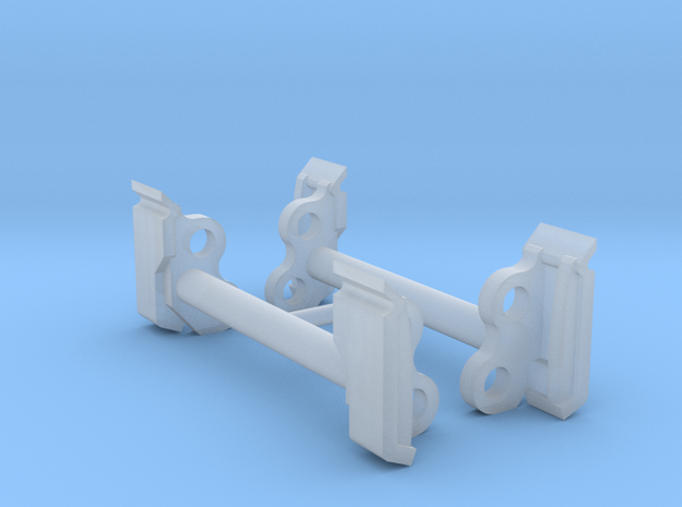 1:50 Bobcat S750 Couplers Pack of Two in Smooth Fine Detail Plastic