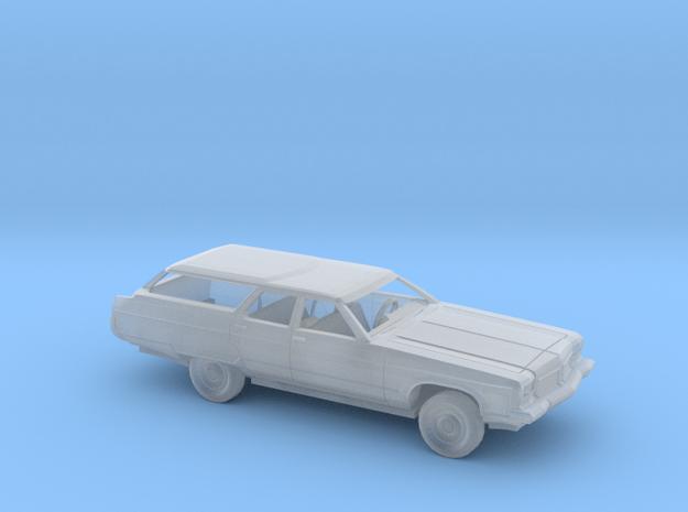 1/160 1973 Oldsmobile  Custom Cruiser Wagon Kit in Smooth Fine Detail Plastic
