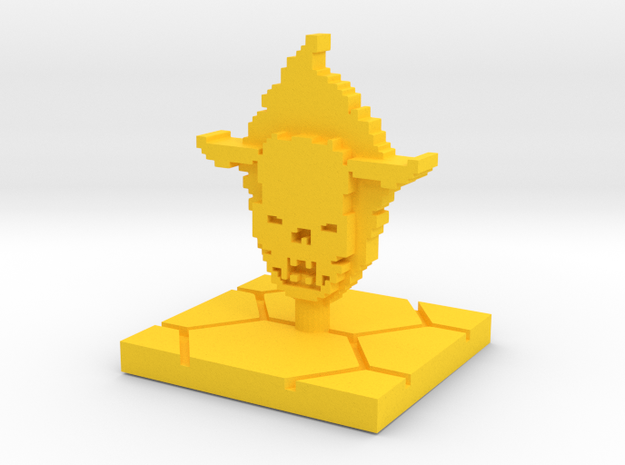 PixFig: Soul in Yellow Processed Versatile Plastic