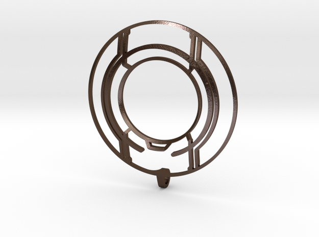 TRON: Legacy Identity Disk - Negative Space 3d printed