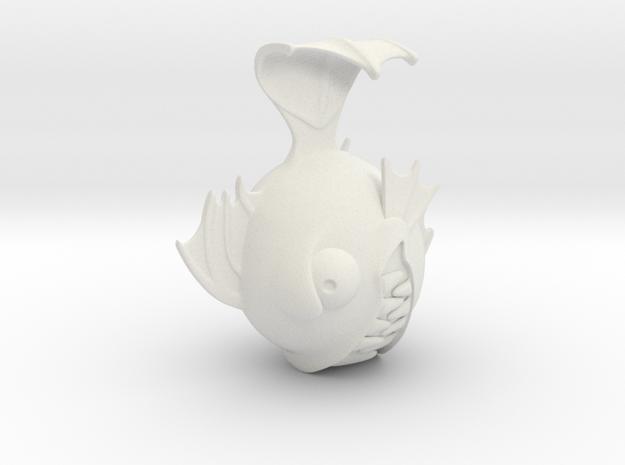 MH Fishface doll head 3d printed