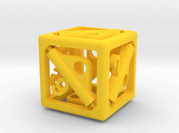 Pop-Up Dice 3d printed