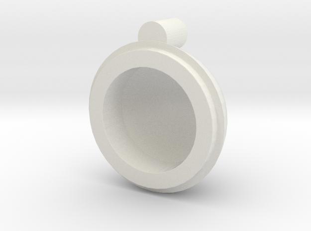 1/600 revell 2nd pilot bridge dome unit in White Natural Versatile Plastic