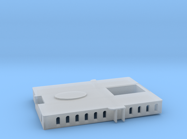Britannic Gym-Entrance-Playroom Deck House - Scale in Smoothest Fine Detail Plastic