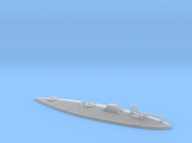 1:285 (6mm) 'Bigfoot II' Narco Sub in Smooth Fine Detail Plastic