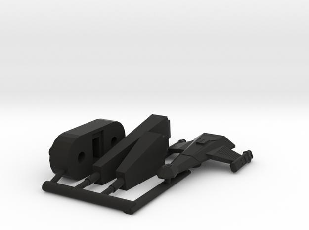 6k K23 Little killer Escort in Black Natural Versatile Plastic