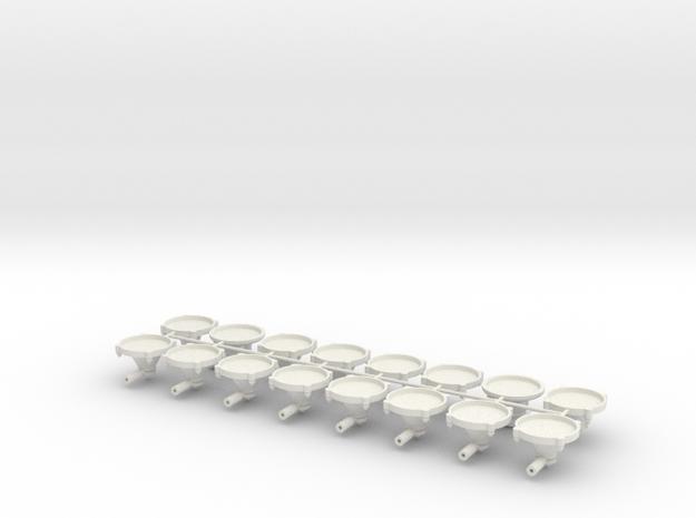 110C400 in White Natural Versatile Plastic