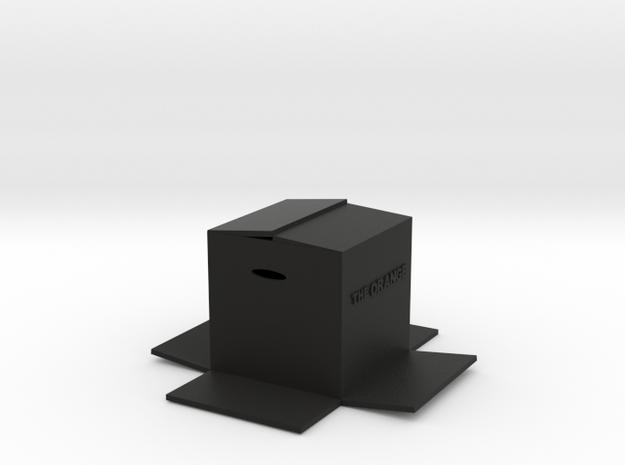 BOX in Black Natural Versatile Plastic