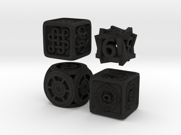 Dice Bundle 01 3d printed